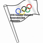 2016 Summer Olympics Keepsakes And Souvenirs